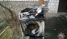В Добруше из-за загоревшейся стиральной машины эвакуировали жильцов подъезда