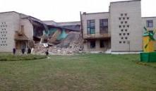 В Кричеве обрушилось здание гимназии: погибших и пострадавших нет