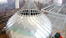 В Новополоцке теперь изготавливают церковные купола