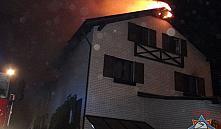 Минск: из горящего мини-отеля «Ля Менска» эвакуировали 40 человек