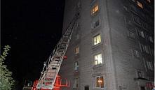 Орша: при пожаре в общежитии эвакуировали 81 человека