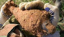 В двух местах Минска обнаружили боеприпасы времен ВОВ