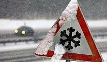 9 января в Беларуси сильный снег. ГАИ предупреждает о неблагоприятных условиях дорожного движения