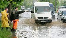 МЧС: из-за дождя в Минске было затруднено движение 14 маршрутов общественного транспорта