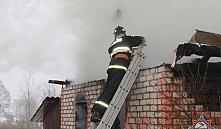 Верхнедвинский район: во время пожара в доме сгорел покойник