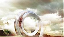В Роттердаме построят жилой дом в виде ветряной мельницы