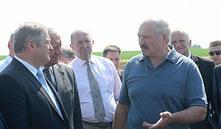 Александр Лукашенко отправился с рабочей поездкой по Минской области