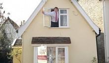Самый маленький коттедж Великобритании ищет покупателя