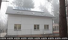 В Беларуси представили первый дом, производящий энергию на продажу
