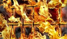 В пинской школе ночью горела столовая
