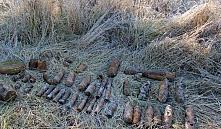 В Березинском районе обнаружили около сотни боеприпасов времен ВОВ