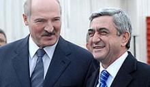 Лукашенко посещает Армению и открывает армяно-белорусский торговый дом