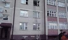 Минский район: под Смолевичами горел многоэтажный дом