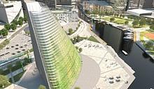 Первый небоскреб-теплица может быть построен в Швеции в 2013 году
