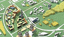 Первые в Минске арендные дома строят на территории ПВТ