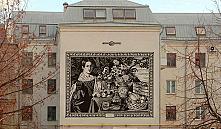 На здании по Карла Маркса хотят воплотить картину Хруцкого