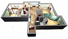 Москвичам предложили 127 вариантов перепланировки жилья