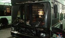 В Минске во время движения загорелся троллейбус