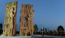 Александр Лукашенко открыл мемориальный комплекс «Тростенец»