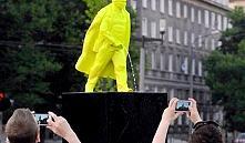 В Кракове появился фонтан-памятник писающему Ленину