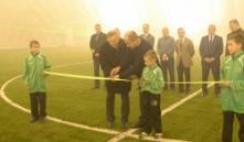 Стоимость строительства Академии футбола в Пинске составила более 10 млн. долларов
