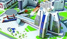 К концу 2013 года в студенческой деревне планируется ввести в эксплуатацию 25-этажное аспирантское общежитие и столовую на 1 600 мест