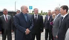 19 июня Александр Лукашенко посетил ОАО «Беларуськалий»