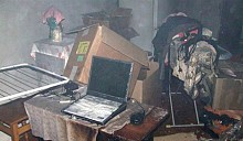 В Гродно общежитие чуть не сгорело из-за ноутбука