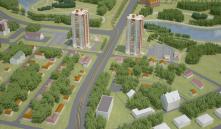 У Слепянского ручья построят два 19-этажных дома