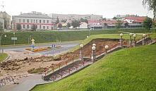 Сильный ливень принес в Гродно оползни и подтопления